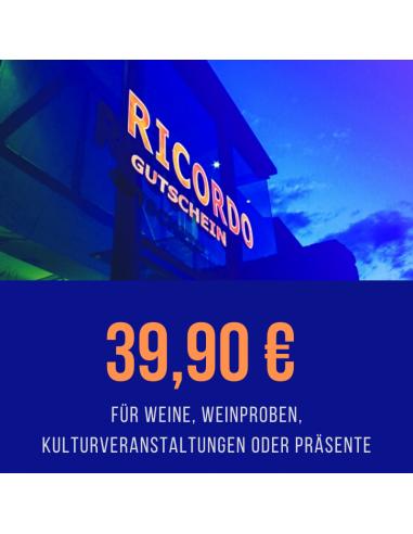 Gutschein 39,90 €