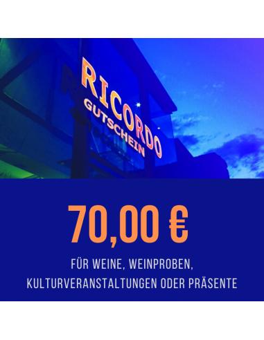 Gutschein 70,00 €