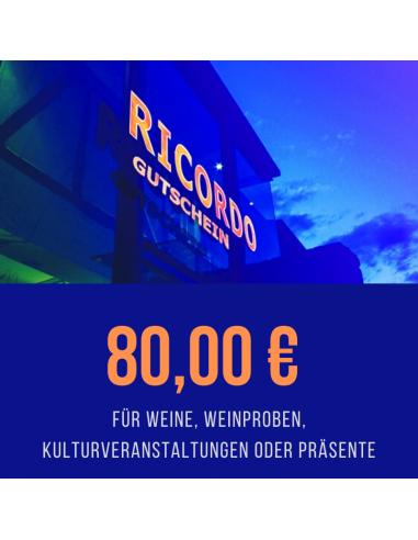 Gutschein 80,00 €