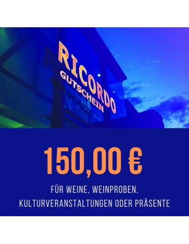 Gutschein 150,00 €